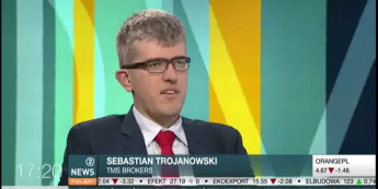 Sebastian Trojanowski Zarządzający Portfelami w programie Zoom na giełdę / Polsat News 2