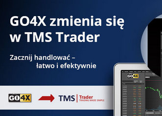 Rachunek maklerski GO4X zmienia nazwę na TMS Trader