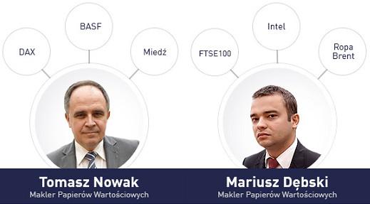 Materiał wideo - strategie inwestycyjne  maklerów
