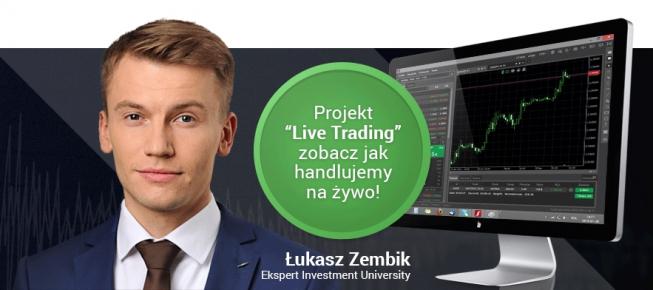 Zaproszenie na Live Trading