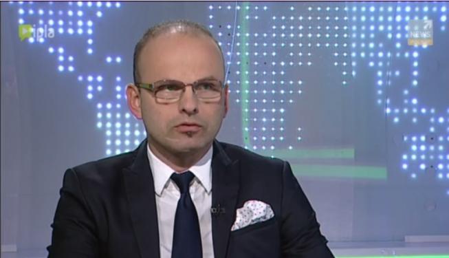 Dariusz Świniarski Zarządzający Portfelami w programie Zoom na giełdę / Polsat News 2